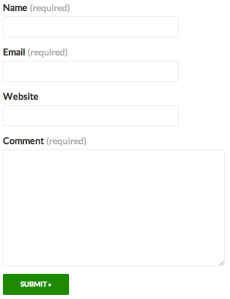 Logged-out Contact Form