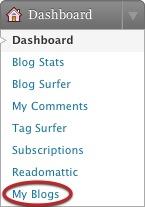 Acceso a mis blogs