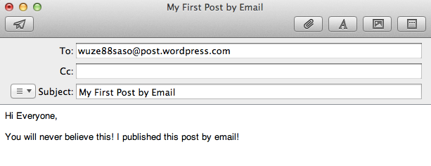 post by email support