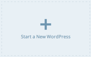 Start a New WordPress