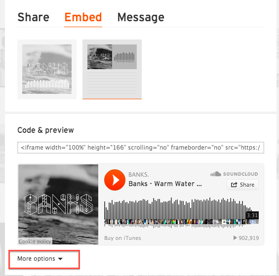 SoundCloud - Track - Embed