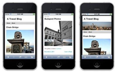 Wordpress. com Mobile Themes