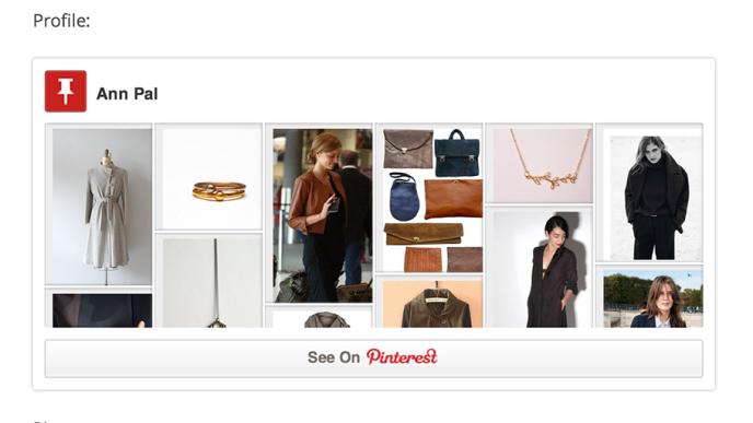 Pinterest-embed