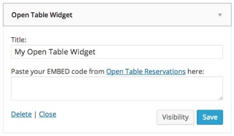 opentablewidget