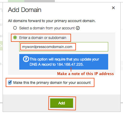 godaddy-add-domain-page