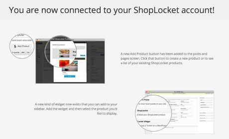 Shoplocket - Now Connected