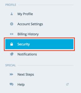 security-menu