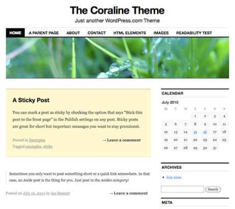 Themes - Make WordPress Support