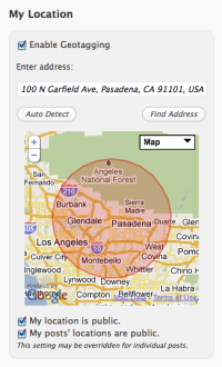 Geotagging - Autodetect