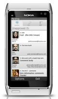 WordPress for Nokia - screenshot