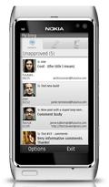 WordPress for Nokia - screenshot
