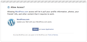 Publicize: Facebook grant authorization dialog