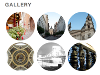 Gallery with Circles Style