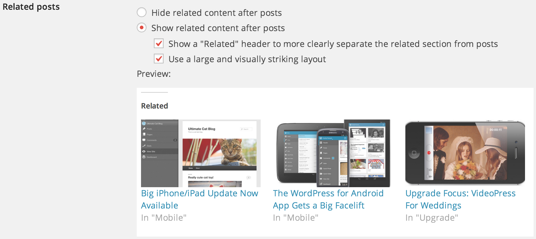 Related Posts — WordPress Plugins